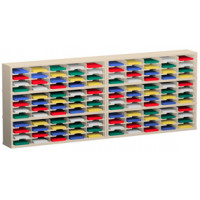 "Mail Room and Office Organizers 120""W x 12-3/4""D, 120 Pocket Sorter with 11-1/2""W Shelves"