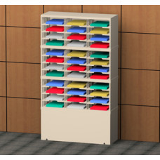 """Charnstrom Mail Room Furniture and Office Organizers 36""""W, 36 Pocket Mail Sorter, 12-3/4""""D"""