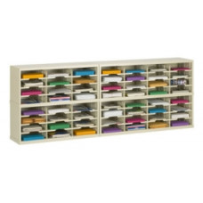 "Mail Center Furniture and Office Organizers - 84""W x 12-3/4""D, 56 Pocket Sorter with 11-1/2""W Pockets"
