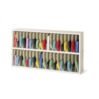 "Mail Room Sorter and Office Organizer - 60""W x 15-3/4""D, 38 Pocket Vertical Sorter"
