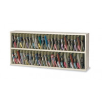 "Mail Room Funiture or Office Organizer - 72""W x 12-3/4""D, 46 Pocket Vertical Sorter"