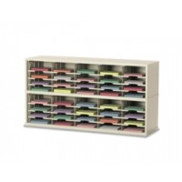 """Mail Room Furniture and Office Organizer - 60""""W x 17""""D, 40 Pocket Sorter - Extra Deep"""
