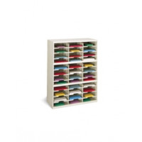 "Office Organizer and Mail Center Sorter 36""W x 15-3/4""D, 36 Pocket Sorter with 11-1/2""W Shelves"
