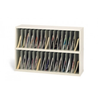 """Mail Room Furniture and Office Organizer 48""""W x 15-3/4""""D, 30 Pocket Vertical Sorter"""