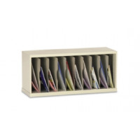 "Mail Room Furniture and Office Organizer 36""W x 15-3/4""D, 10 Pocket Vertical Sorter"