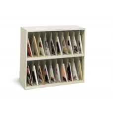 "Mail Room Furniture and Office Organizer 36""W x 15-3/4""D, 20 Pocket Vertical Sorter"