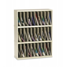 "Mail Room Furniture and Office Organizer 36""W x 15-3/4""D, 30 Pocket Vertical Sorter"