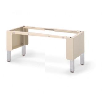 "Mailroom Furniture Open Leg Riser for 36""W Sorter (12-3/4""D)"