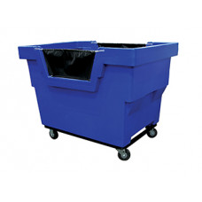 Mail Room Supplies Double Walled Poly - Plastic Mail/Parcel Hamper