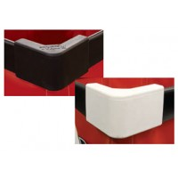Mail Room Supplies Corner Bumpers for Permanent Liner Hampers (Set of 4)