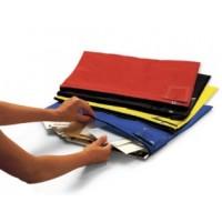 "Mail Room Supplies Mail Bag Pouches 18""L x 14""H Nylon Round Trip Mail Pouch"