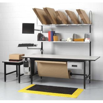 "Packing Station and Manifest Console 83"" x 33"" Complete"