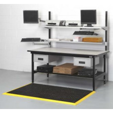 "Shipping Console and Manifest Station 68"" x 33"" with Adjustable Shelves"