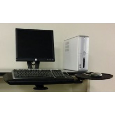 Adjustable Keyboard and Mouse Shelf