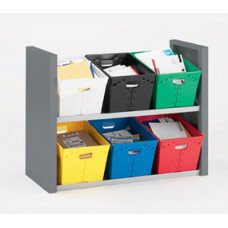 Mail Room Sorters Two Shelf USPS Tote Sorter