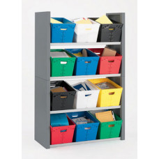 Mail Room Sorter Four Shelf Postal Tote Sorter