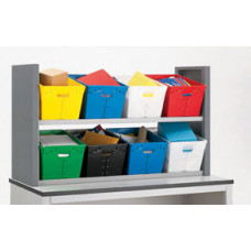 Mail Room Sorters Two Shelf Postal Tote Sorter