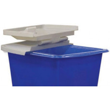 Mail Room Supplies Plastic Lid For Poly Mail Hampers