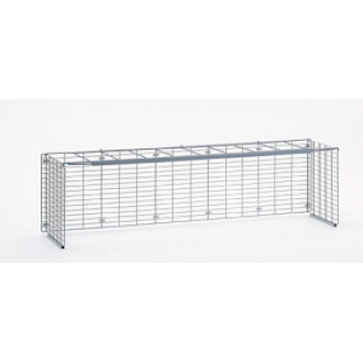 "Mail Room and Office Furniture and Supplies 60""W x 12""D, Wire Mail Sorter Riser - Letter Depth"