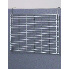 "24""W Wire Back Panel with Partition Hooks (for use with our Hook-on Accessories) - FREE Shipping!"