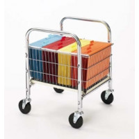 Office Carts Roll Away  Basket Cart