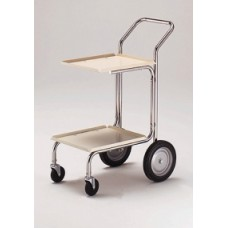 Office and Mail Room Carts Compact Frame Mail and Office Cart