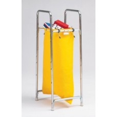 Charnstrom Mailroom Products Stationary 1 Bag Holder, Mailbag Rack