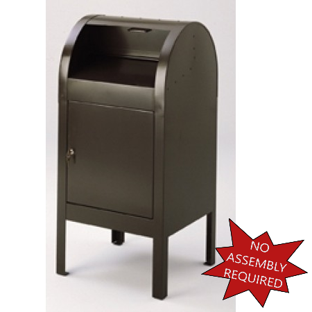 Weather Sealed Outdoor Mail Drop Box, Outdoor Drop Box For Packages